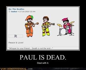PAUL IS DEAD.