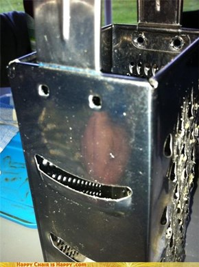 Charlie the cheese grater