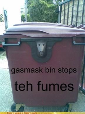 gasmask bin