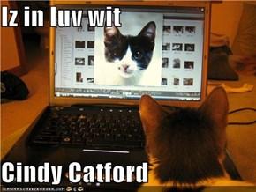 Iz in luv wit  Cindy Catford