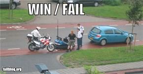 Bumper Car WIN / Traffic FAIL