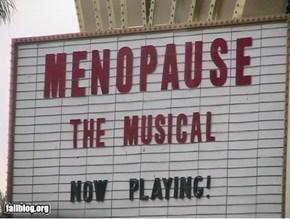 Menopause fail