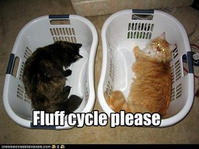 Fluff cycle please