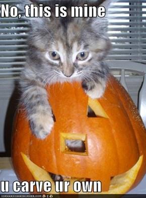 No, this is mine  u carve ur own