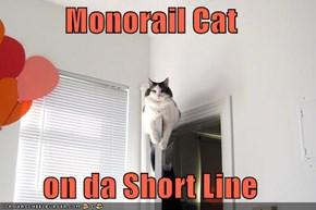Monorail Cat  on da Short Line