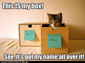 This IS my box!