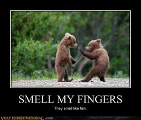 SMELL MY FINGERS