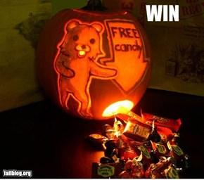 Halloween Candy Win