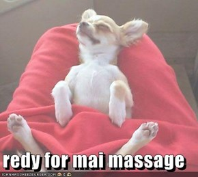 redy for mai massage