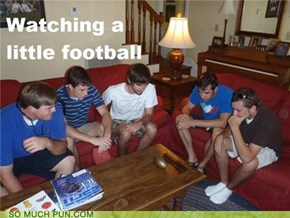 Watching a Little Football