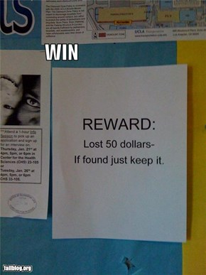 Reward Poster WIN
