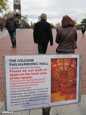 Philharmonic Fail
