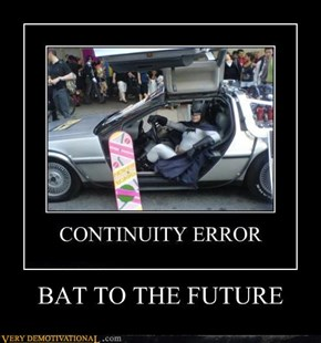 BAT TO THE FUTURE