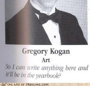 Yearbook Win