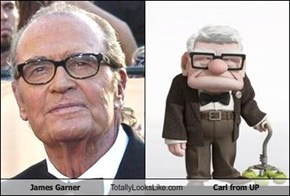 James Garner Totally Looks Like Carl from UP