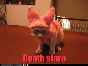 Death stare