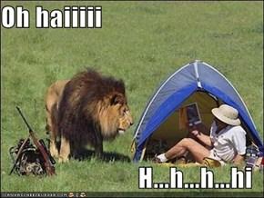 Oh haiiiii  H...h...h...hi