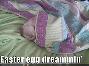 Easter egg dreammin'