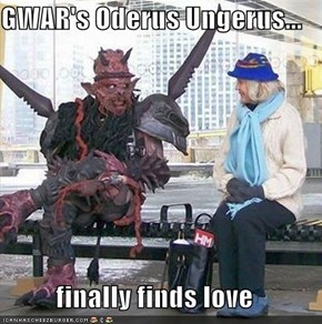 GWAR's Oderus Ungerus...  finally finds love
