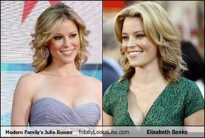 Modern Family's Julie Bowen Totally Looks Like Elizabeth Banks