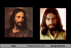 Jesus Totally Looks Like George Harrison