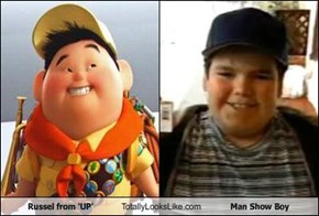 Russel from 'UP' Totally Looks Like Man Show Boy