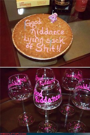 The Divorce Party Every Little Girl Dreams of...