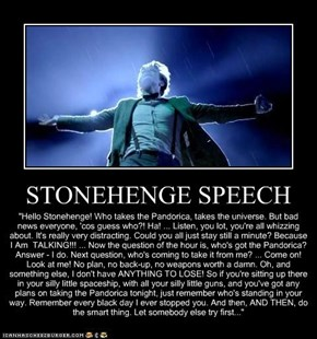 STONEHENGE SPEECH