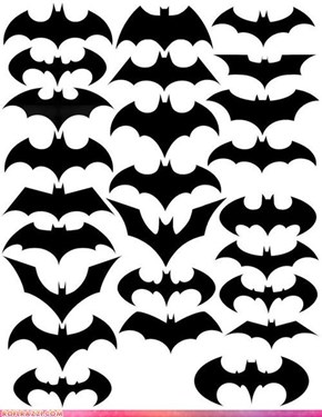 The Bat Symbol Through the Bat Ages