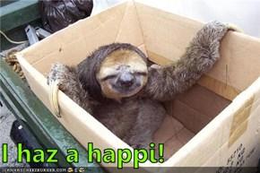 I haz a happi!