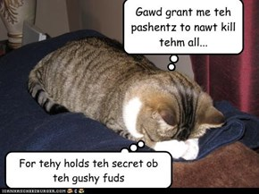 Gawd grant me teh pashentz to nawt kill tehm all...