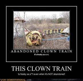 THIS CLOWN TRAIN