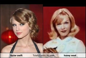 taylor swift Totally Looks Like honey west