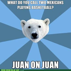 Culturally Insensitive Polar Bear