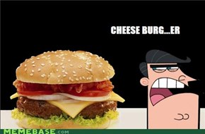 Dinkleberg Cheese burger