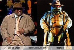 Cee Lo Green Totally Looks Like Raphael