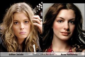 Gillian Jacobs Totally Looks Like Anne Hathaway