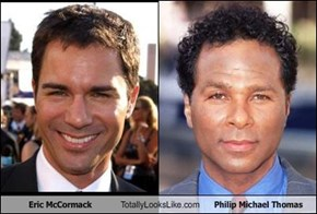 Eric McCormack Totally Looks Like Philip Michael Thomas