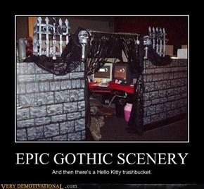 EPIC GOTHIC SCENERY
