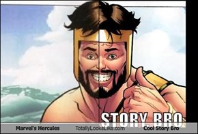 Marvel's Hercules Totally Looks Like Cool Story Bro