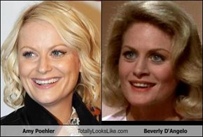Amy Poehler Totally Looks Like Beverly D'Angelo