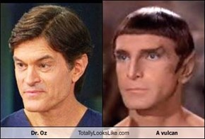 Dr. Oz Totally Looks Like A vulcan