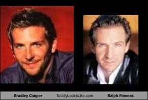 Bradley Cooper Totally Looks Like Ralph Fiennes