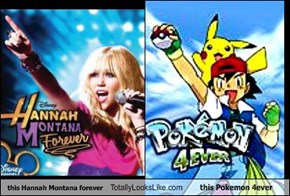 this Hannah Montana forever Totally Looks Like this Pokemon 4ever