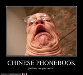 CHINESE PHONEBOOK