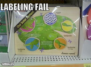 Labeling fail