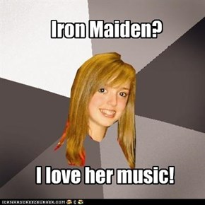 Musically Oblivious 8th Grader: Iron Maiden