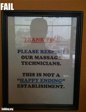 Oddly Specific: Happy Ending Fail