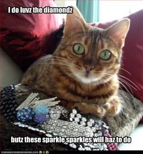 I do luvz the diamonds
