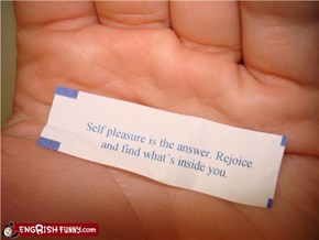 I Think That Cookie Just Told Me to Pleasure Myself